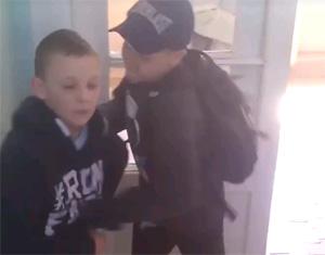 Бетмен з Франика проти шкільної банди
