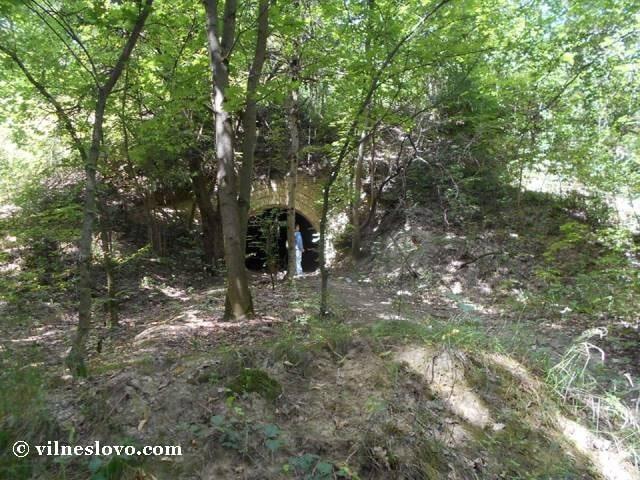 Підземні гори і потерни на Лисій горі
