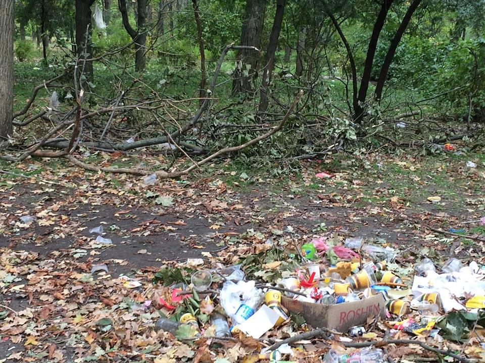 Україна в полоні сміття