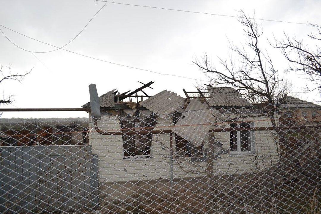 Развалины дома Станица Луганская