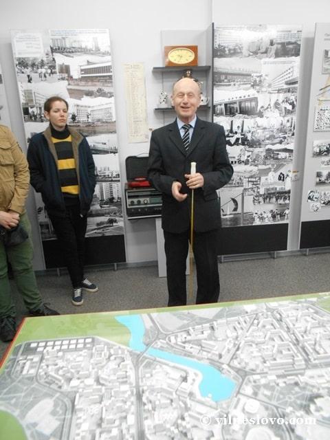 Директор краєзнавчого музею Славутича - Євген Алімов