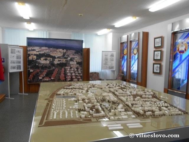 Славутич - макет міста