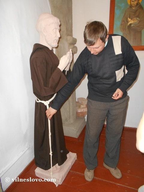 Монах капуцин, Острозька академія