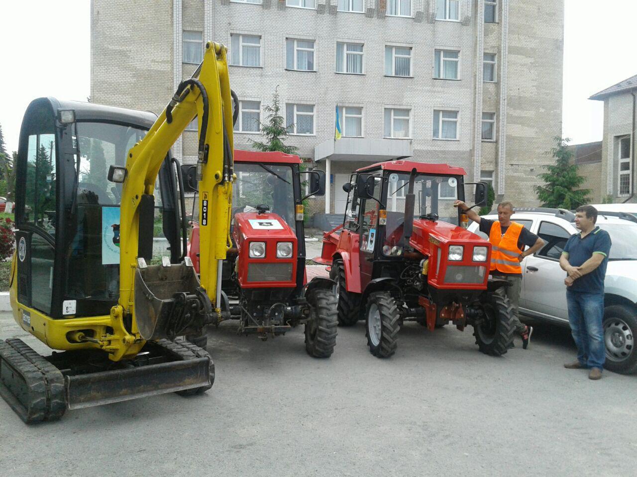 Комунальна техніка Дунаєвецька ОТГ