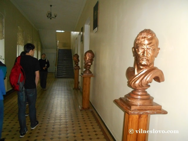 У коридорах навчальних корпусів, Острозька академія