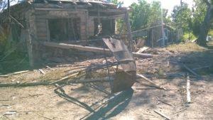 База боевиков Дубрава в Станице