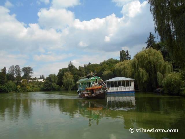 Річковий пароходик