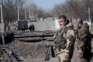 В Станицу Луганскую пришел русский мир