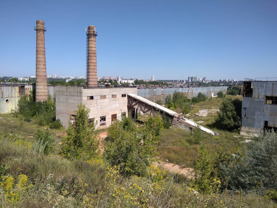 Заброшенный завод в Харькове
