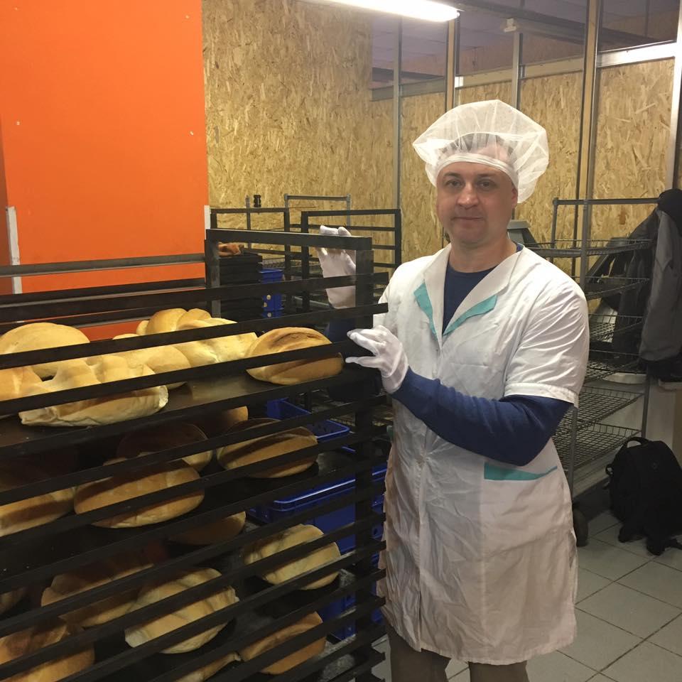 Хліб життя у прифронтовій Мар'їнці