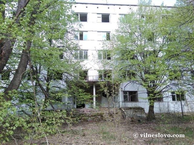 Пустой дом в городе Припять