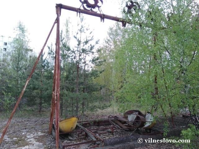 Качели - парк в городе Припять