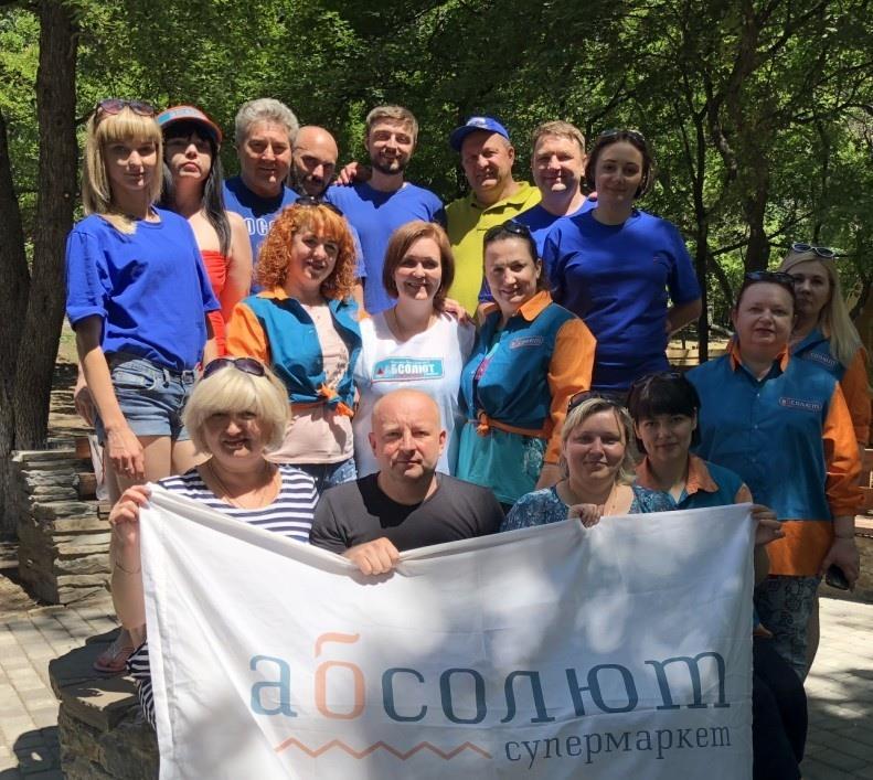 Участники спартакиады из Станицы Луганской