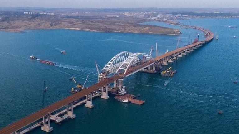 В строительстве керченского моста принимали участие компании ЕС и США
