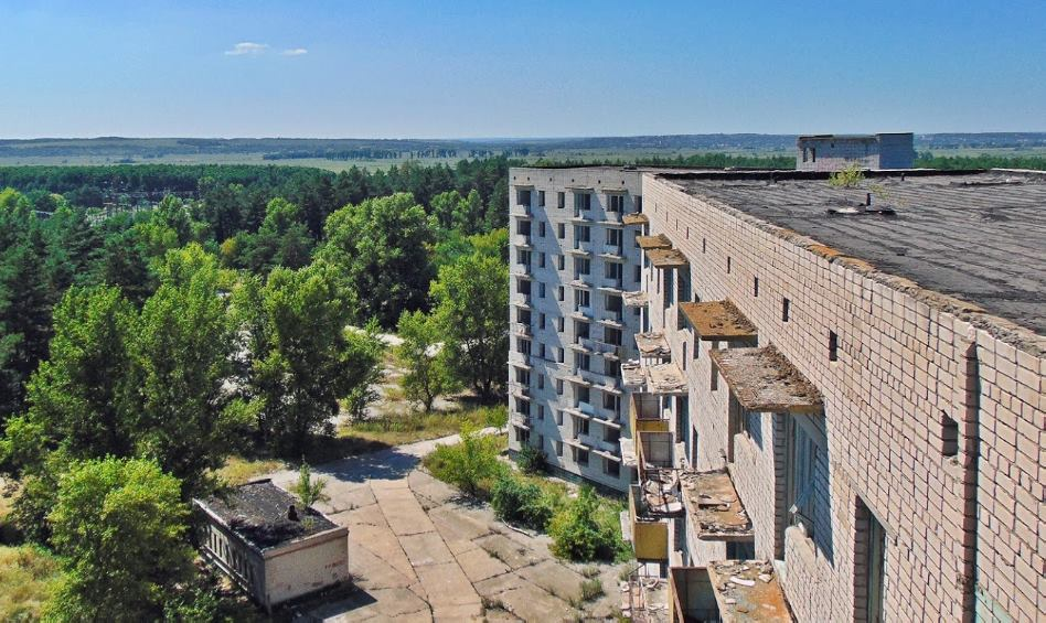 Города-призраки Украины