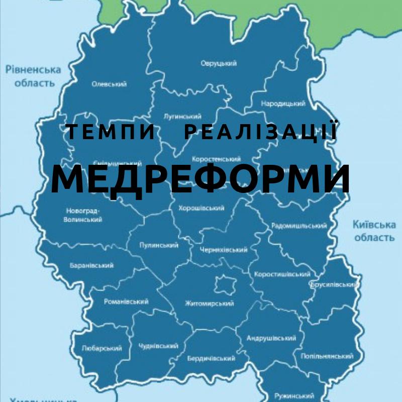 Автономізовані та щасливі: медична реформа на Житомирщині