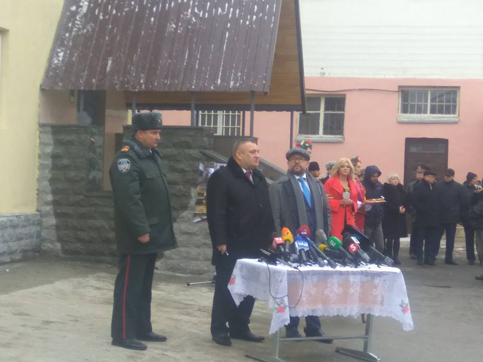 Початок великої роботи: у Київському СІЗО відкрили оновлений режимний корпус