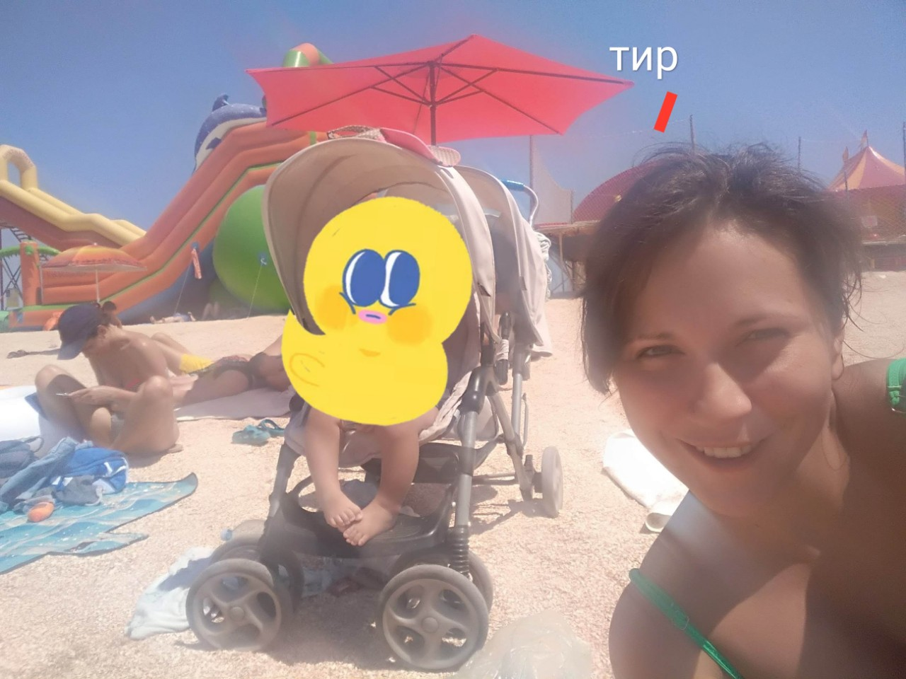 Тир на пляжі спричинив інвалідність молодій матері троїх дітей