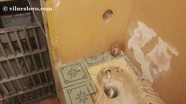 Тюремный туалет