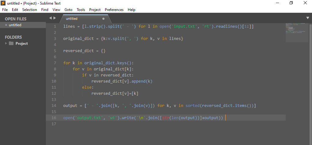 Datosh_code_theme для редактора Sublime Text 3