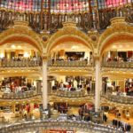 Балкони і поверхи Galeries Lafayette