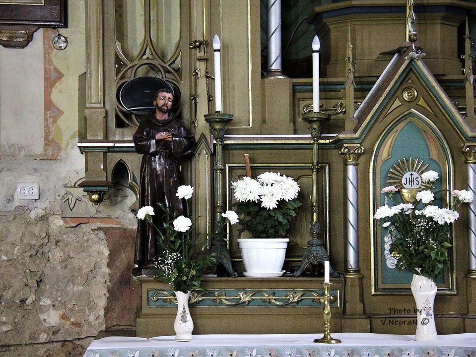 Римо-католицький костел, Берегово