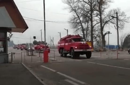 Ліквідація лісових пожеж у Чорнобильській зоні відчуження