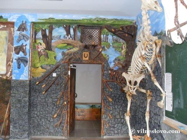Музей анатомії тварин, зала з експонатами