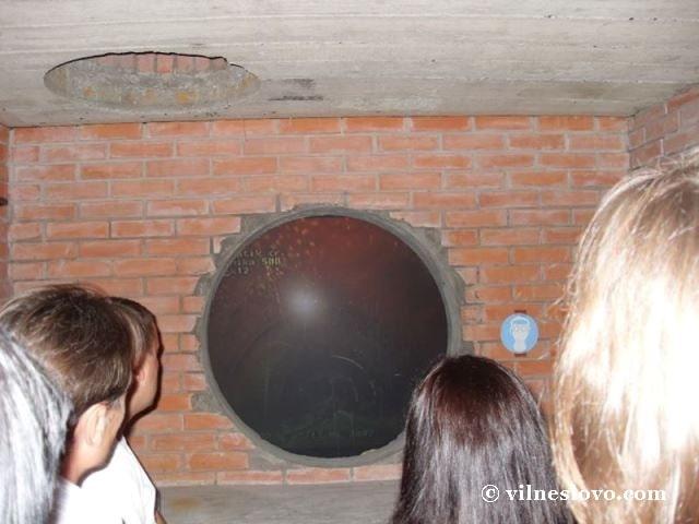Музей води макет каналізації
