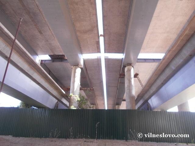Опори і полотна мосту