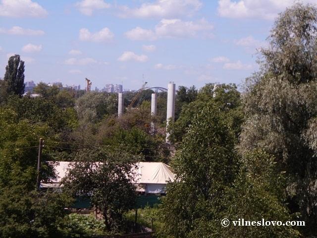 Подільсько-Воскресенський міст біля Райдужного