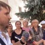 Ковідіоти на мітингу Кирила Стремоусова