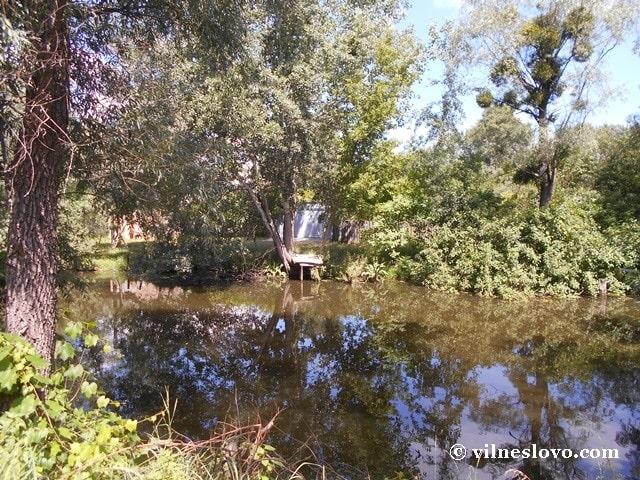 Рибацький місток над озером