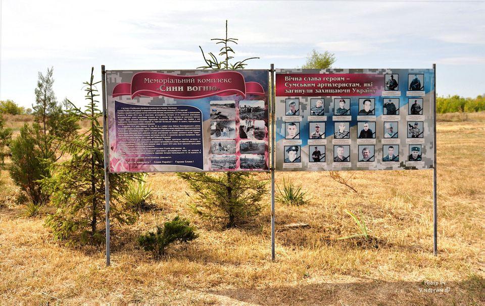 Сини вогню на Луганщині