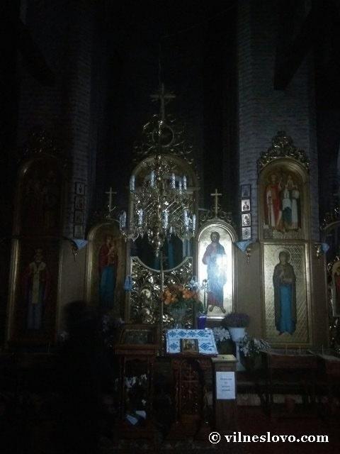 Іконостас П'ятницької церкви