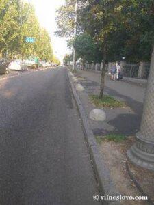 Бетонные блоки парковка