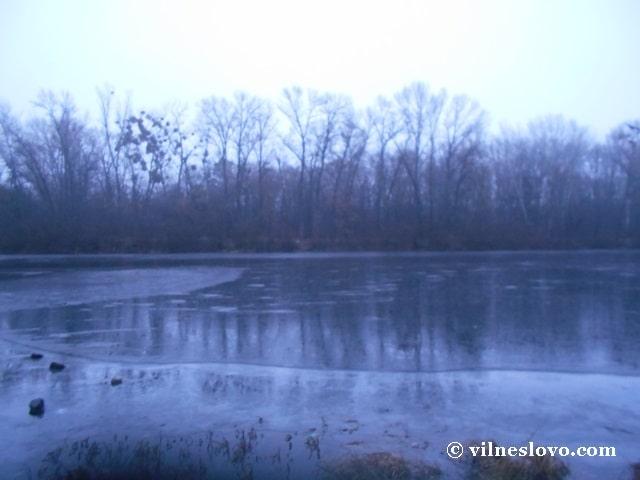 Озеро Бабине взимку