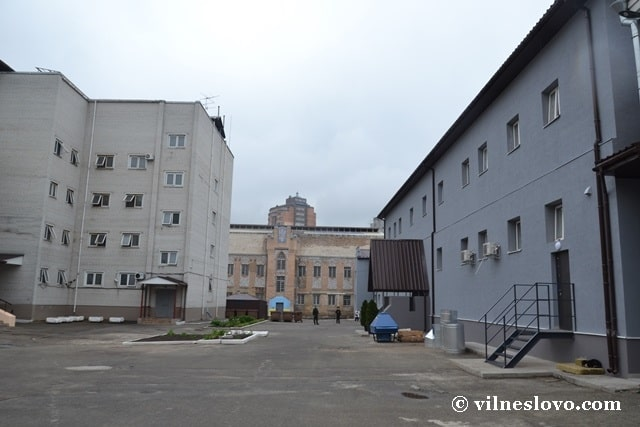 В Киевском СИЗО открыли обновленный режимный корпус