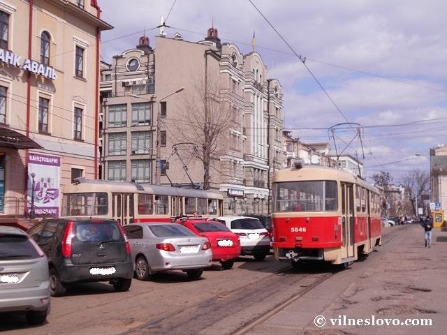 Трамвай на Поділ