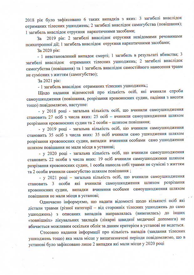 Статистика Київського слідчого ізолятору 2