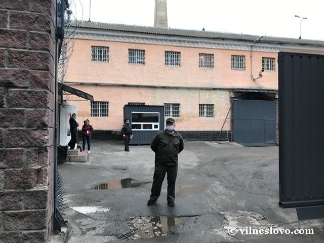 Ув'язнених доправляють до СІЗО