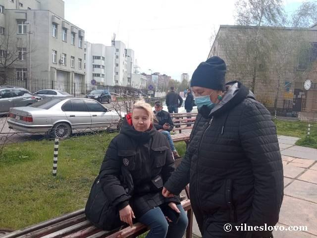 Тетяна Раздорова з Оксаною Георгієвою
