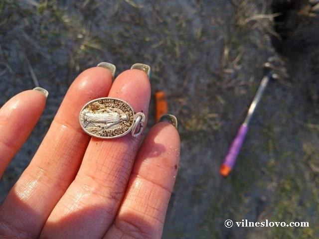 Медальон Діви Марії
